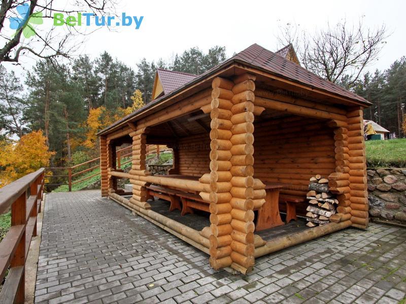 Отдых в Белоруссии Беларуси - дом охотника На Вилии - Площадка для шашлыков