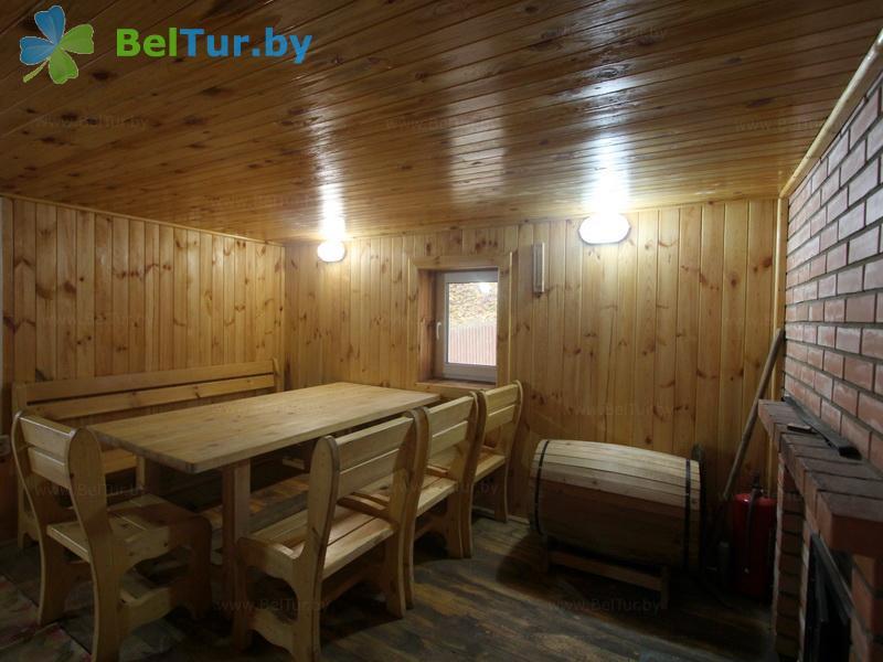 Отдых в Белоруссии Беларуси - дом охотника На Вилии - Баня русская