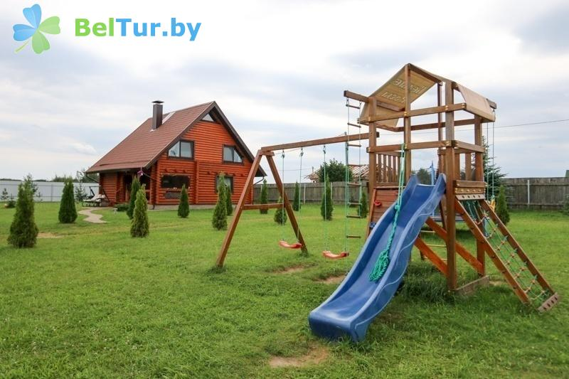 Отдых в Белоруссии Беларуси - база отдыха Белые Росы - Детская площадка