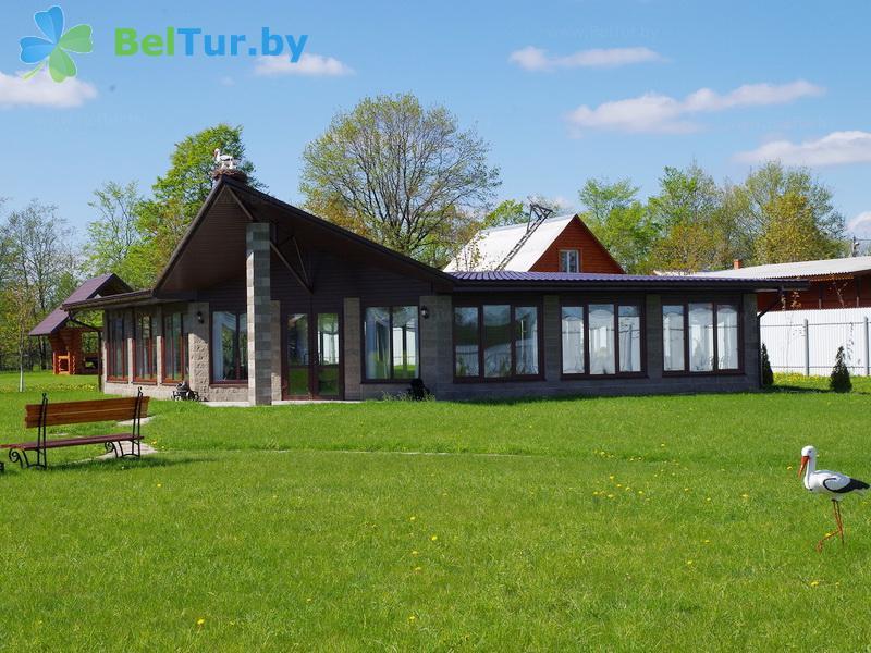 Отдых в Белоруссии Беларуси - база отдыха Белые Росы - банкетный зал