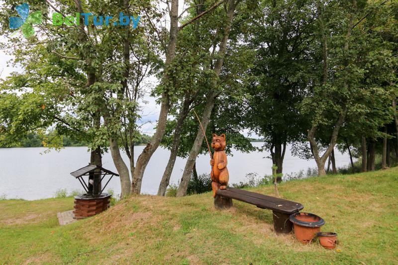 Отдых в Белоруссии Беларуси - база отдыха Белые Росы - Территория и природа