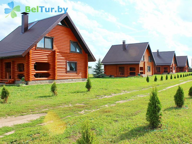 Отдых в Белоруссии Беларуси - база отдыха Белые Росы - дом №1-4