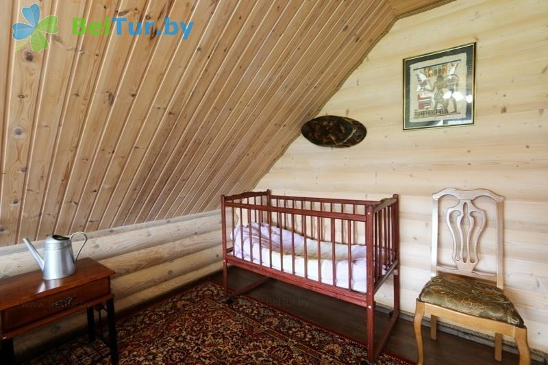 Rest in Belarus - recreation center Belyye Rosy - house (8 people) (housу №1-4)
