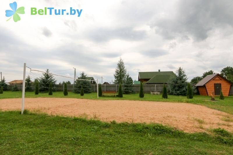 Отдых в Белоруссии Беларуси - база отдыха Белые Росы - Спортплощадка