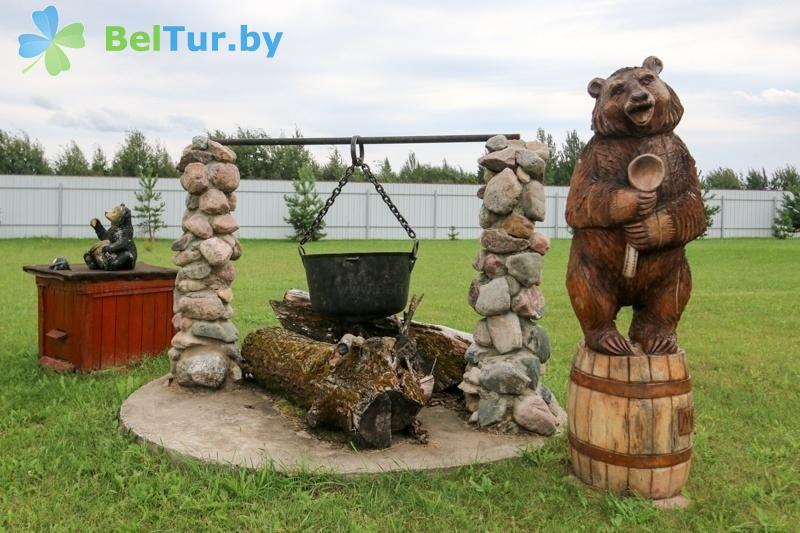 Rest in Belarus - recreation center Belyye Rosy - Territory