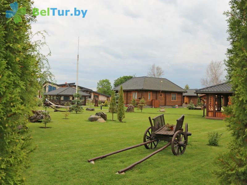 Отдых в Белоруссии Беларуси - усадьба Три медведя - Территория и природа