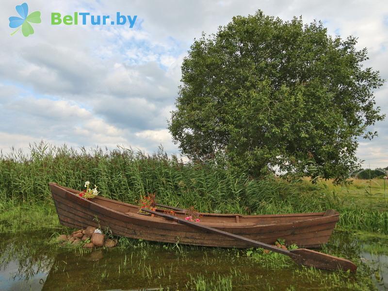 Отдых в Белоруссии Беларуси - усадьба Три медведя - Водоём