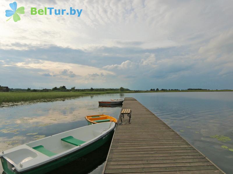 Отдых в Белоруссии Беларуси - усадьба Три медведя - Пляж