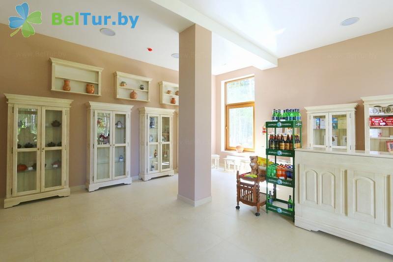 Отдых в Белоруссии Беларуси - гостиничный комплекс Грин Парк Отель - Магазин