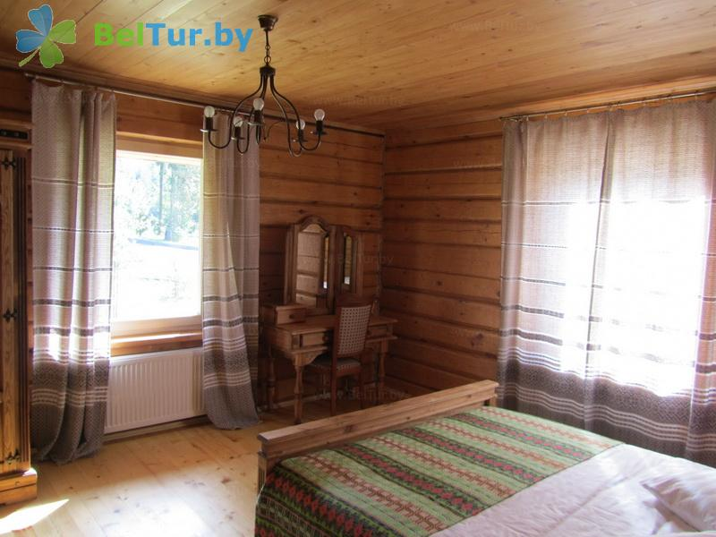 Rest in Belarus - hotel complex Green Park Hotel - double 3-room cottage (guest house №1-8)