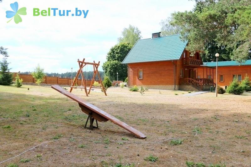 Отдых в Белоруссии Беларуси - дом охотника Гродненский - Детская площадка