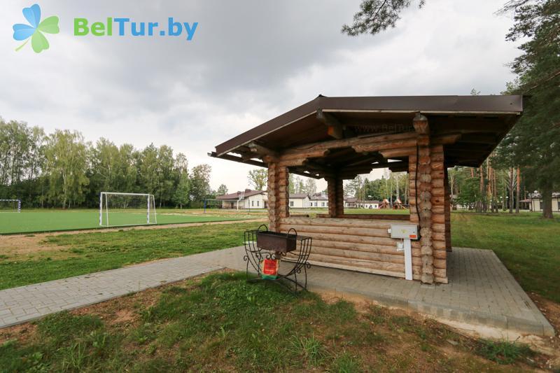 Отдых в Белоруссии Беларуси - база отдыха Чайка (Борисов) - Площадка для шашлыков