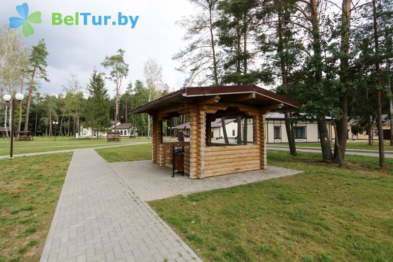 Отдых в Белоруссии Беларуси - база отдыха Чайка (Борисов) - Беседка