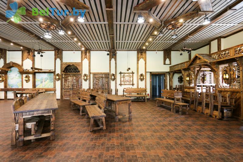Отдых в Белоруссии Беларуси - база отдыха Чайка (Борисов) - Ресторан