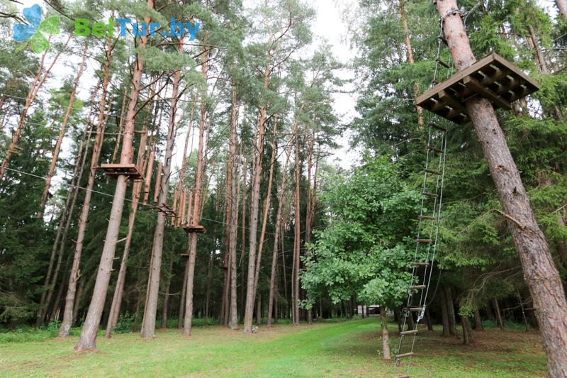 Отдых в Белоруссии Беларуси - база отдыха Чайка (Борисов) - Веревочный городок
