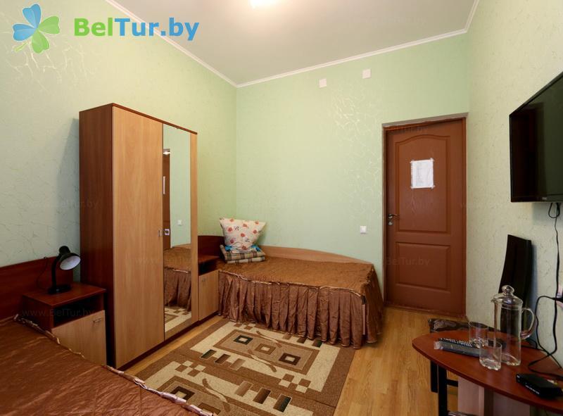 Отдых в Белоруссии Беларуси - оздоровительный комплекс Белино - двухместный в блоке (2+2) повышенной комфортности (основной корпус)