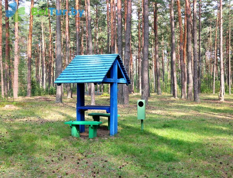 Адпачынак у Беларусі - аздараўленчы комплекс Беліно - Пляцоўка для шашлыкоў