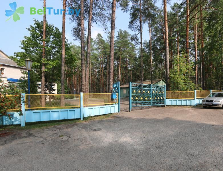 Отдых в Белоруссии Беларуси - оздоровительный комплекс Белино - Парковка