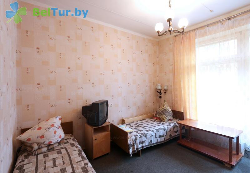 Отдых в Белоруссии Беларуси - оздоровительный комплекс Белино - двухместный в блоке (2+2) (основной корпус)