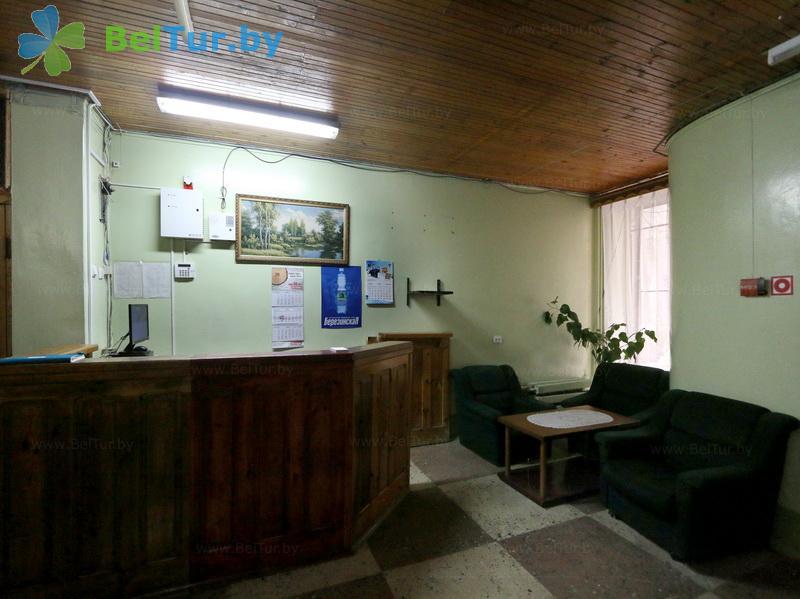 Отдых в Белоруссии Беларуси - оздоровительный комплекс Белино - Регистратура
