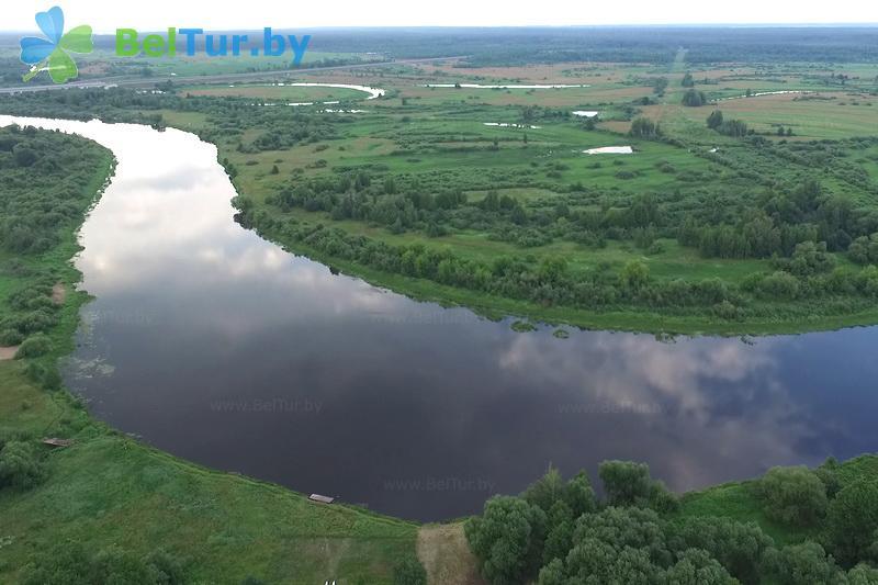 Отдых в Белоруссии Беларуси - гостиничный комплекс Вишневый сад - Водоём