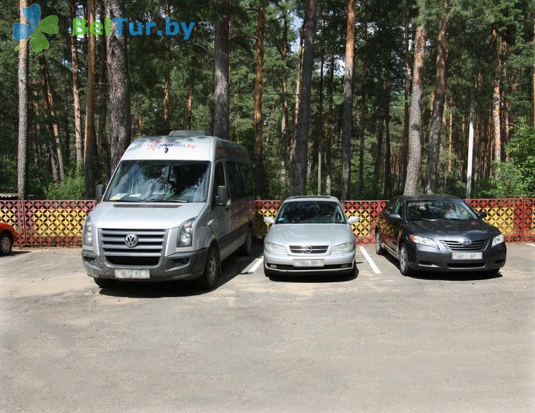 Отдых в Белоруссии Беларуси - база отдыха Высокий берег Немана - Автостоянка