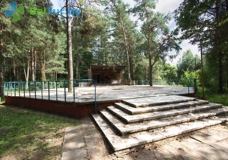 Отдых в Белоруссии Беларуси - база отдыха Высокий берег Немана - Танцплощадка летняя