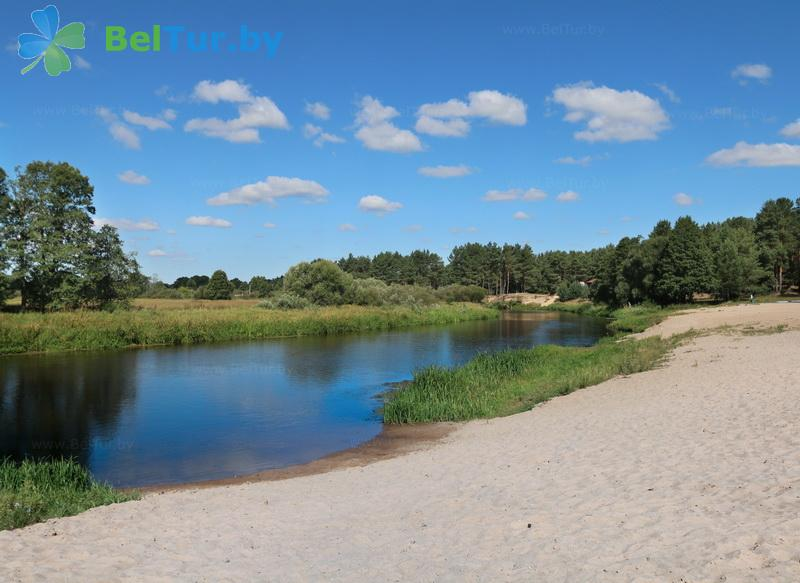 Отдых в Белоруссии Беларуси - база отдыха Высокий берег Немана - Пляж