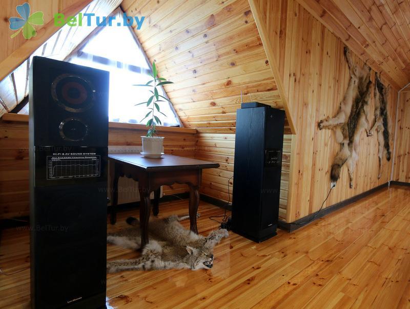 Отдых в Белоруссии Беларуси - дом охотника Старобинский - Бильярд