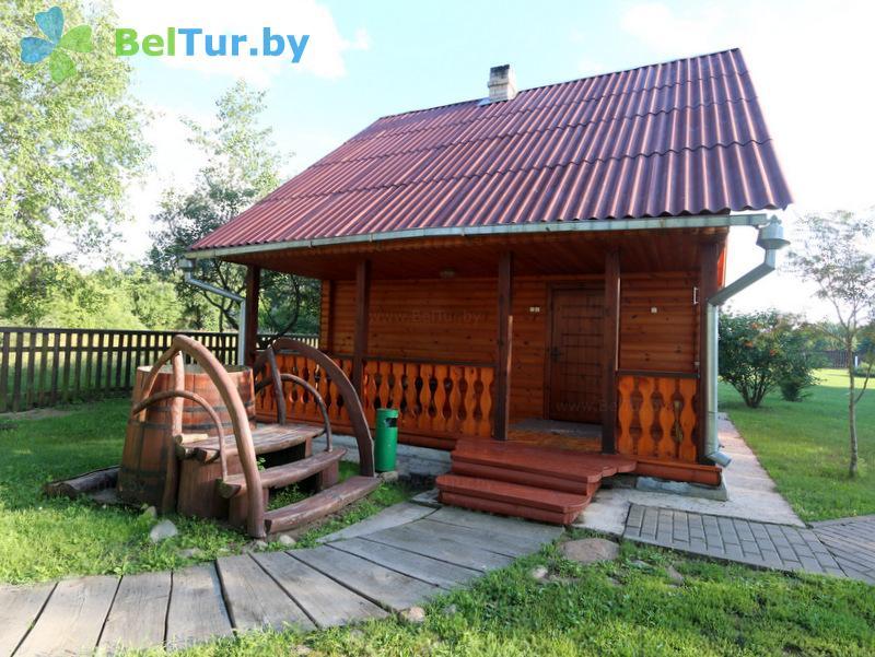 Отдых в Белоруссии Беларуси - дом охотника Старобинский - баня