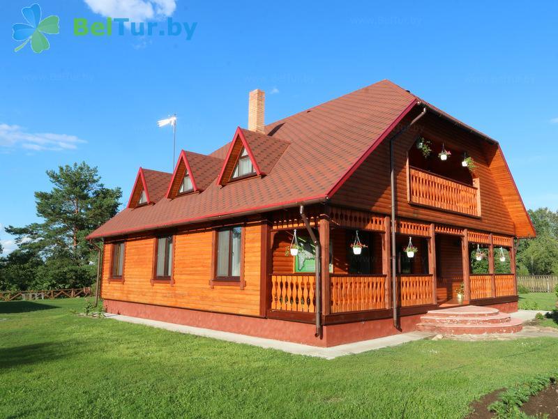 Отдых в Белоруссии Беларуси - дом охотника Старобинский - дом охотника