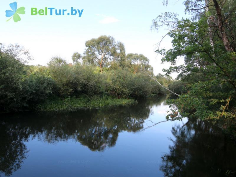 Отдых в Белоруссии Беларуси - дом охотника Старобинский - Водоём