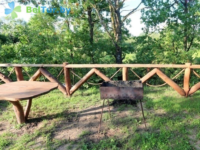 Отдых в Белоруссии Беларуси - дом охотника Старобинский - Площадка для шашлыков