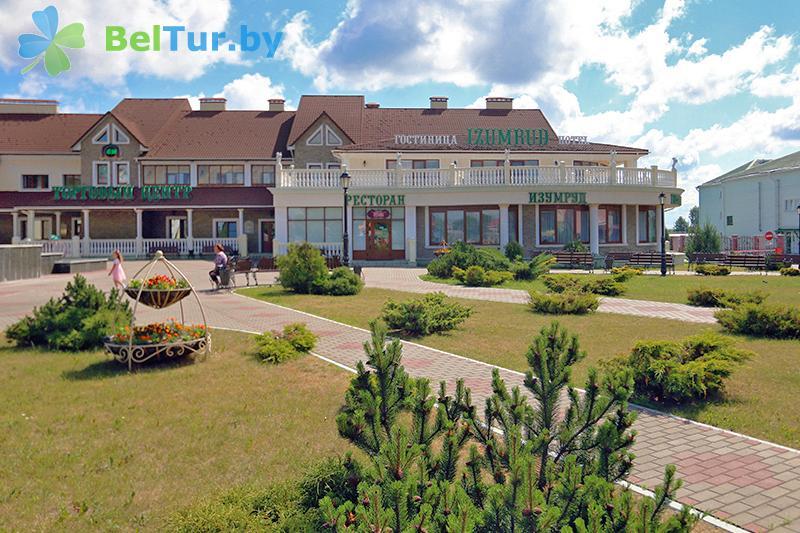 Отдых в Белоруссии Беларуси - гостиничный комплекс Изумруд - ресторан Изумруд