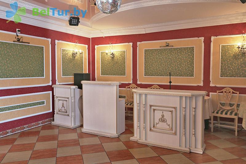Отдых в Белоруссии Беларуси - гостиничный комплекс Изумруд - Банкетный зал