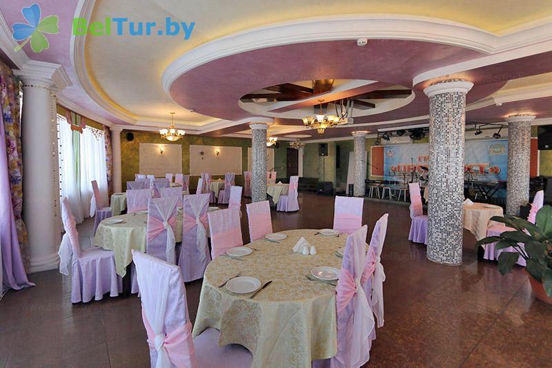 Отдых в Белоруссии Беларуси - гостиничный комплекс Изумруд - Ресторан
