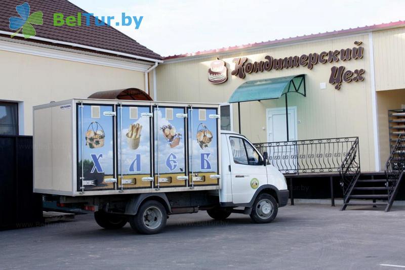 Отдых в Белоруссии Беларуси - гостиничный комплекс Изумруд - кондитерский цех