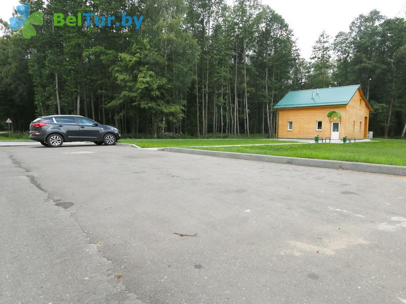Отдых в Белоруссии Беларуси - гостиница Войтов мост - Парковка