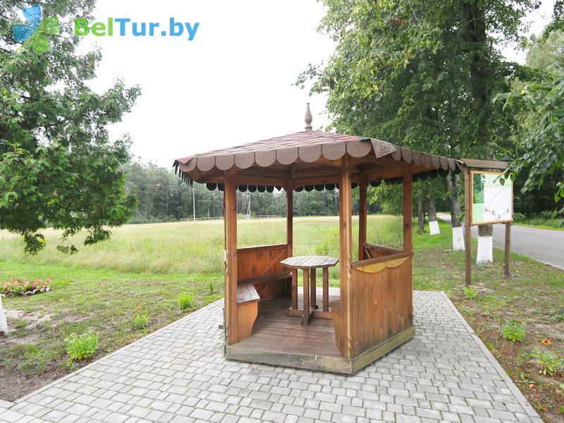 Отдых в Белоруссии Беларуси - гостиница Войтов мост - Беседка