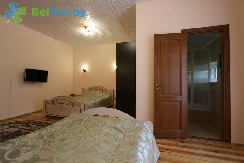 Отдых в Белоруссии Беларуси - гостиничный комплекс Жарковщина - двухместный однокомнатный полулюкс/с 2-спальной кроватью (корпус №1)