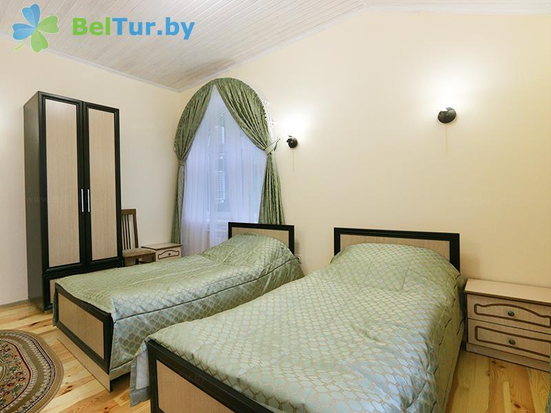 Rest in Belarus - hotel complex Zharkovschina - one-room double (building №1)