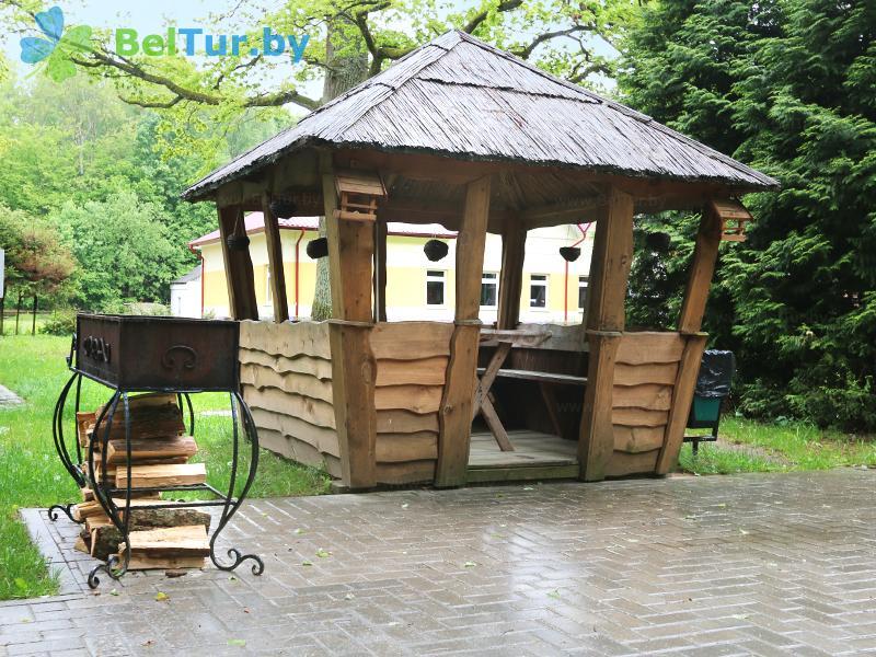 Отдых в Белоруссии Беларуси - гостиничный комплекс Жарковщина - Площадка для шашлыков