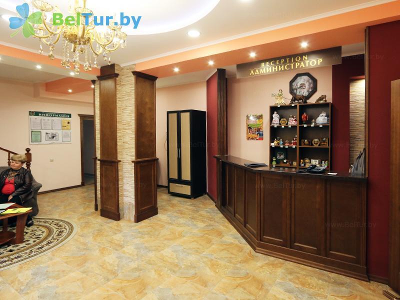 Rest in Belarus - hotel complex Zharkovschina - Reception
