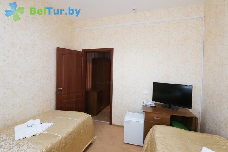Отдых в Белоруссии Беларуси - гостиница Туров плюс - двухместный однокомнатный стандарт (гостиница)
