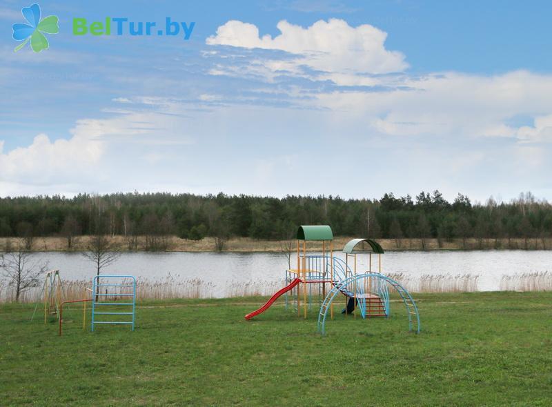 Отдых в Белоруссии Беларуси - база отдыха Дом Рыбака - Детская площадка