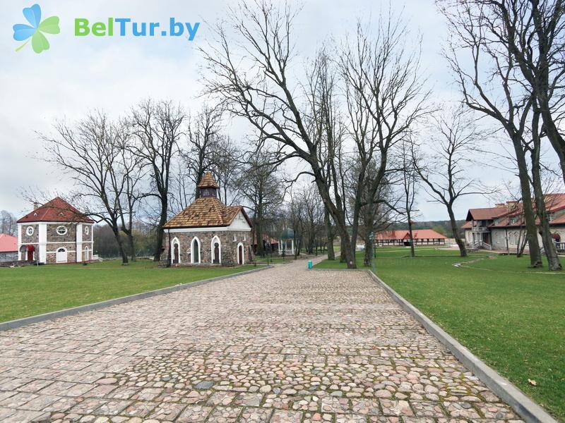 Отдых в Белоруссии Беларуси - усадьба Королинский фольварок Тызенгауза - Территория и природа