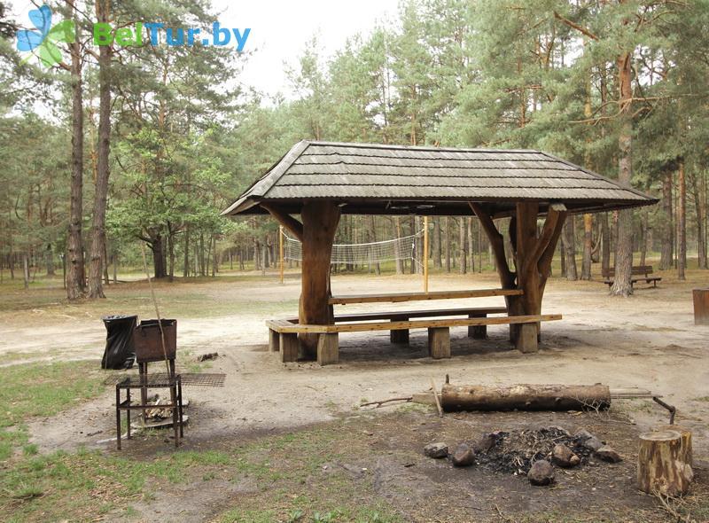 Отдых в Белоруссии Беларуси - база отдыха Комарово - Площадка для шашлыков