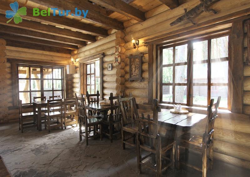 Отдых в Белоруссии Беларуси - база отдыха Комарово - Ресторан
