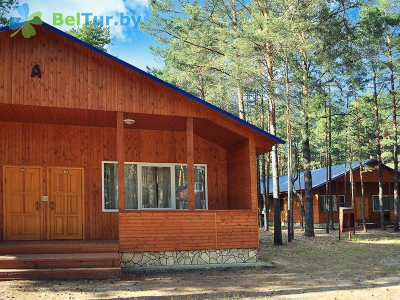 Отдых в Белоруссии Беларуси - база отдыха Комарово - домик А