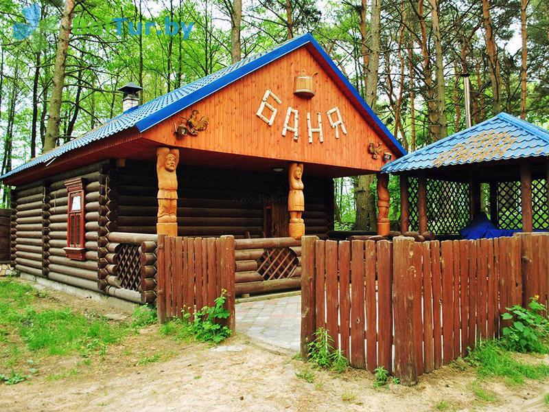 Отдых в Белоруссии Беларуси - база отдыха Комарово - баня